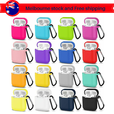 AU4.29 • Buy Shockproof Headphone Case Silicone Cover Gel Skin For Apple AirPods 1 2