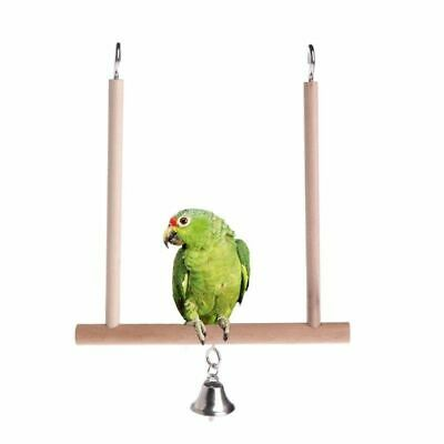 Wooden Birds Cage Perch Cage Hanging Wood Bird Perch Top Quality Pets Supply New • 8.02£
