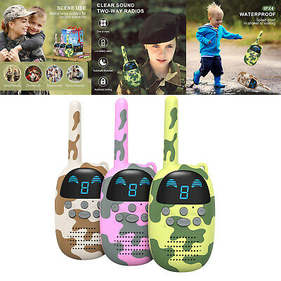 AU50.03 • Buy 3 Pieces Walkie Talkies For Kids 9 Channel 2 Way Radio Gift For Camping Hiking