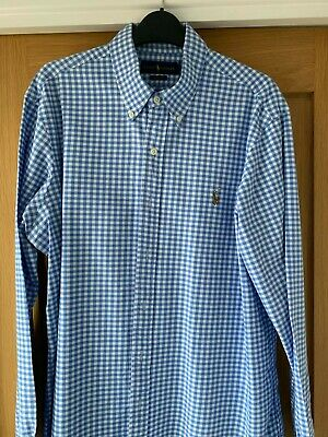 Ralph Lauren Gingham Shirt - Large • 8£
