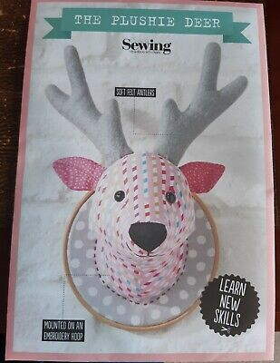 THE PLUSHIE DEER ANIMAL TOY Sewing Pattern By Gathered-Simply Sewing  - Uncut • 1.10£