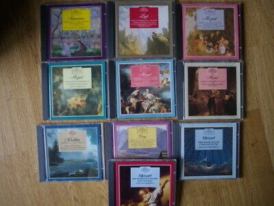 The Great Composers And Their Music. Set Of 10 CD's Excellent Clean Condition • 15£