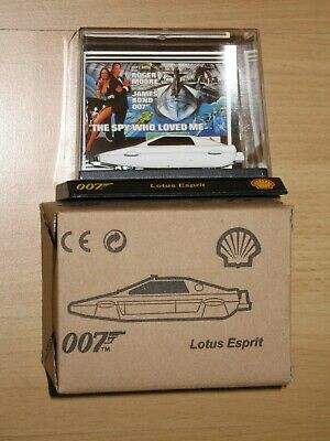 $ CDN11.17 • Buy James Bond 007 Collectable Car By Shell - Lotus Esprit - The Spy Who Loved Me