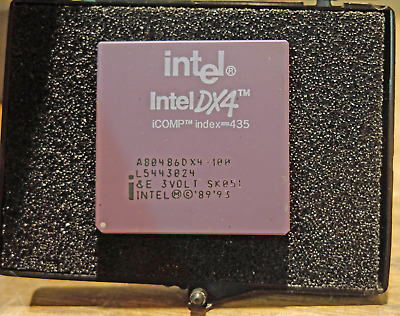 AU47.63 • Buy Intel I486 DX4 CPU - A80486DX4-100, 3 Volt