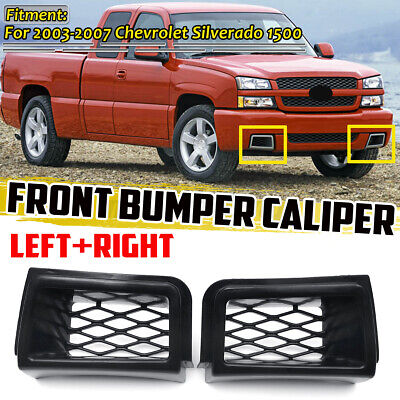 $38.89 • Buy Front Bumper Caliper Air Duct Grille Cover For Chevrolet Silverado 1500 2003-07