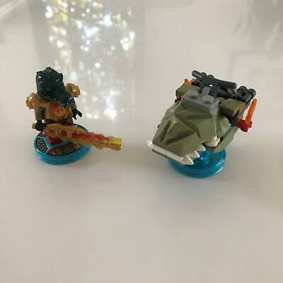 AU29.99 • Buy LEGO Dimensions 71223 | Chima Fun Pack | Used 100% Complete