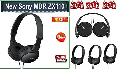 AU36 • Buy GENUINE BRAND NEW Sony MDR ZX110 Over The Ear Headphones Lightweight Design