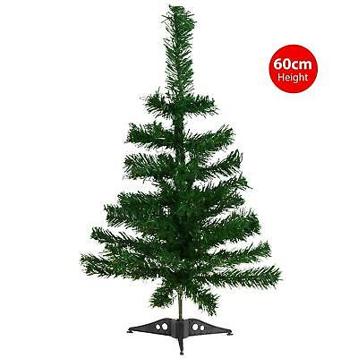 £5.99 • Buy 45cm Artificial Christmas Tree Small Mini Table Top Xmas Green Pine With Stand