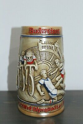 $ CDN23.55 • Buy 1984 Budweiser L A. Olympics Commemorative Stein Very Clean In Great Shape!