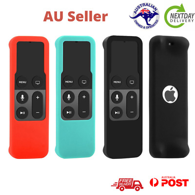 AU6.65 • Buy Remote Controller Silicone Cover For Apple TV 4th Skin Case Protective Dustproof
