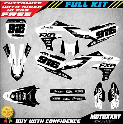 AU179.90 • Buy Custom Graphics Kit To Fit Yamaha YZ 250F 2019 2020 Models SHADES STYLE Stickers