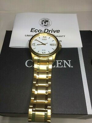 AU160 • Buy CITIZEN  ECO-DRIVE BM7262-5 GOLD WATCH Brand New Unwanted Gift Can Only Wear One