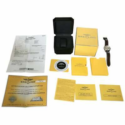£4500 • Buy 18ct Gold & Steel Breitling Navitimer D23322 Wrist Watch Full Set Box Papers Ect