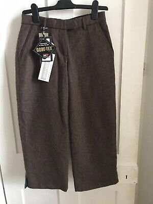Laksen Conaglen Solid Breeks Ladies SIZE UK 8 Brown Wool Gore-tex Fabric • 68£