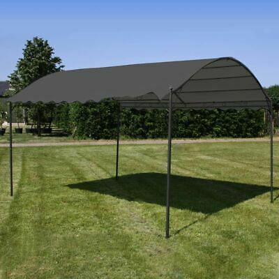 AU217.95 • Buy Gazebo Steel Frame Water Resistant Retractable Canopy Outdoor Garden Shade 3x4m