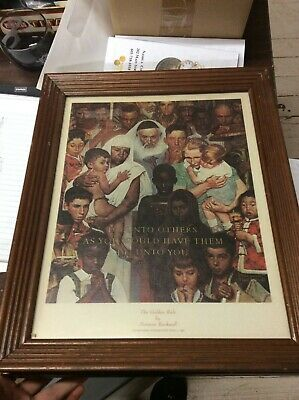 $ CDN63.04 • Buy Norman Rockwell Vintage Collection Of Framed Prints - A