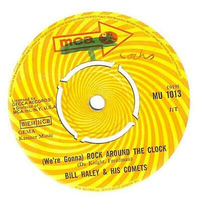 Bill Haley And His Comets - (We're Gonna) Rock Around The Clock - 7  Vinyl • 7.50£