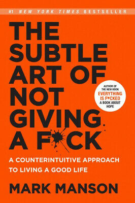 AU22.65 • Buy The Subtle Art Of Not Giving A F*Ck By Mark Manson