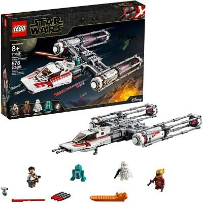 AU149.99 • Buy *BRAND NEW* LEGO Star Wars Resistance Y-Wing Starfighter - 75249 | Hard To FIND