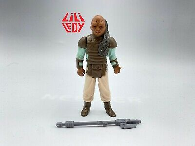 $ CDN1.67 • Buy Star Wars Vintage Lili Ledy Mexico Weequay Glossy Tail Vibroblade Unlettered SEE