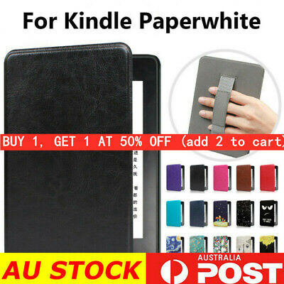 AU15.19 • Buy Smart Magnetic Case Cover For Kindle Paperwhite 1/2/3/4 10th Gen2018~Hand Holder