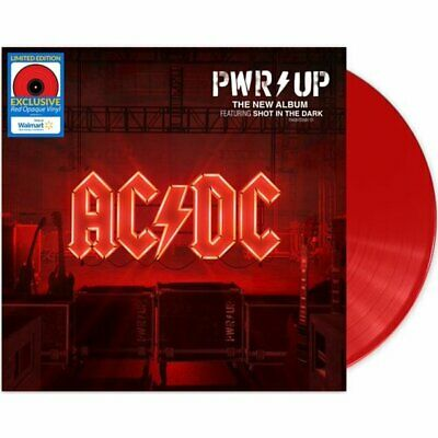 £36.64 • Buy Ac/dc Power Up Vinyl New! Exclusive Limited Opaque Red Lp! Shot In The Dark