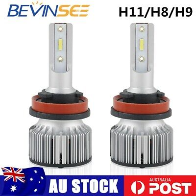 AU25.73 • Buy H11 H8 H9 LED Headlight Globes 6000K 6000LM 60W Low Beam For Volvo S60 2010-2018