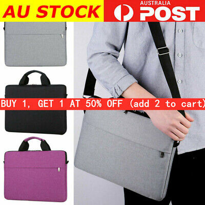 AU9.99 • Buy Waterproof Laptop Shoulder Bag Soft Case Cover For MacBook HP Dell Lenovo AU HOT
