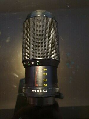 Hanimex Auto Zoom Lens F80 -200. Condition Is Used. Dispatched With Royal Mail 2 • 15£