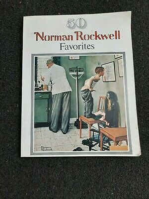 $ CDN14.26 • Buy 1977 Norman Rockwell Favorites Book 50 Large Poster Size Coffee Table