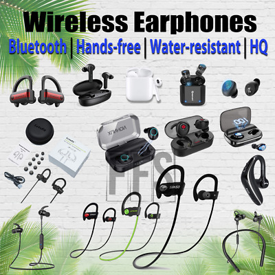 AU50.93 • Buy Wireless Earphones Earbud Bluetooth In-Ear Lot Charger IPhone Android All Colors