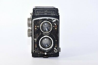 OLD ROLLEICORD DPR VINTAGE 6x6 Medium Format TLR Film Camera W/s COMPUR TESTED • 132.41£