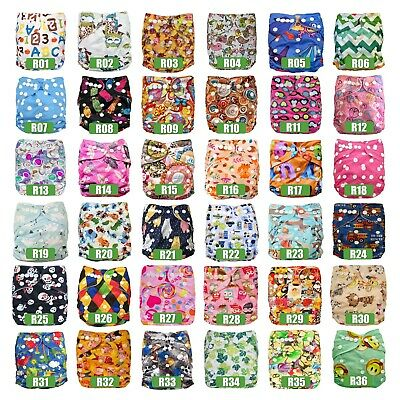 AU10 • Buy Single Baby Cloth Nappies Diapers MCNs Inserts Liners Reusable My Little Ripple