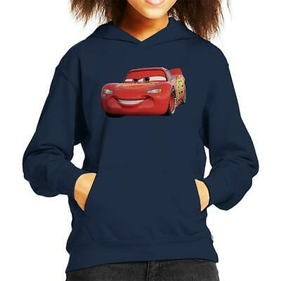 Disney Cars Lightning McQueen Smile Kid's Hooded Sweatshirt • 22.95£