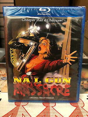 Nail Gun Massacre (Blu-ray) NEW OOP Code Red *RARE* Factory Sealed HTF Slasher • 32.18£