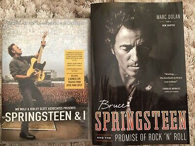 Bruce Springsteen  Dvd And Book Unwanted Gifts • 8£