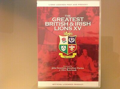 £2.79 • Buy The Greatest British And Irish Lions Xv Dvd - Rugby - Good Condition