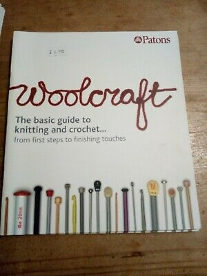 Patons Woolcraft Basic Guide To Knitting And Crochet • 4£