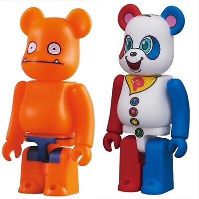 $29.99 • Buy 2pcs Set Medicom 100% Bearbrick Animal Series 22+Horror 19 Uglydoll US Seller