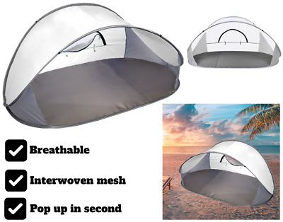 AU28.54 • Buy Mountvie Pop Up Tent Camping Beach Tents 4 Person Portable Hiking Shade Shelter