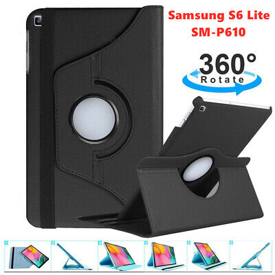 AU12.99 • Buy 360 Rotate PU Leather Case Cover Skin For Samsung Galaxy Tab S6 Lite P610 Tablet