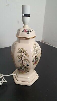 £30 • Buy Vintage Porcelain Chinese Oriental Style  Table Lamp  Base(B11)