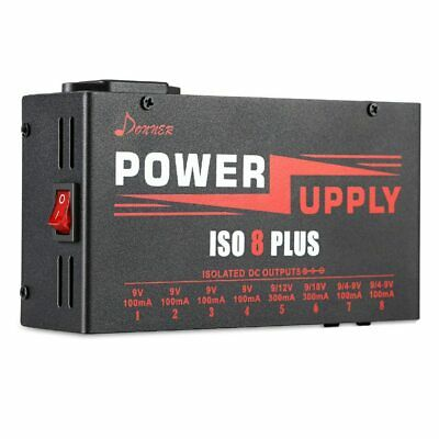 $ CDN329.04 • Buy Isolated Outputs Power Supply Guitar Effect For Pedals Board Voltage Protections