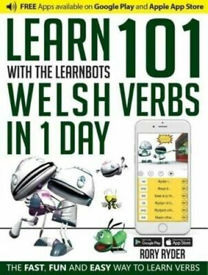 Learn 101 Welsh Verbs In 1 Day With The Learnbots BNEW Ryder Rory • 12.17£