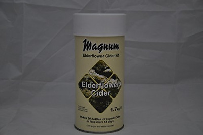 Magnum Elderflower Cider Making Home Brew Kit - Makes 40 Pints! • 25.91£