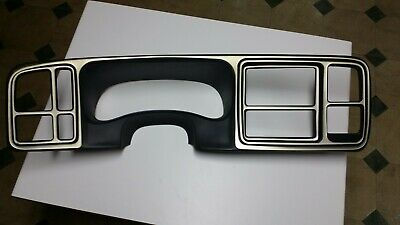 $35.85 • Buy Used 2003-06 SILVERADO SIERRA Cluster Dash Trim Radio Bezel (make Offer)