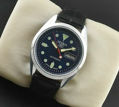 $ CDN34.99 • Buy Vintage Seiko 5 Automatic 17 Jewels Cal.6309 Day Date Men's Wrist Watch Serviced
