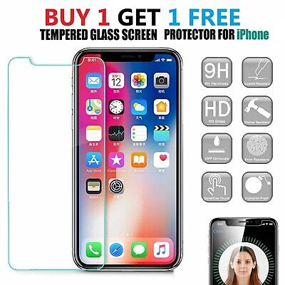 Gorilla Tempered Glass Screen Protector For New IPhone 11 Pro X XR XS Max Cover • 1.99£