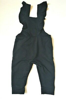 Girls Black Dungarees Ex My K Mothercare NEW Age 9 Months To 10 Years • 11.95£