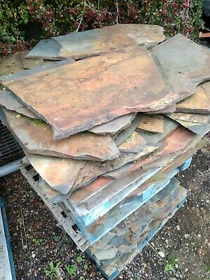 Slate Crazy Paving  Approx 20-25m² £350 For It All • 350£